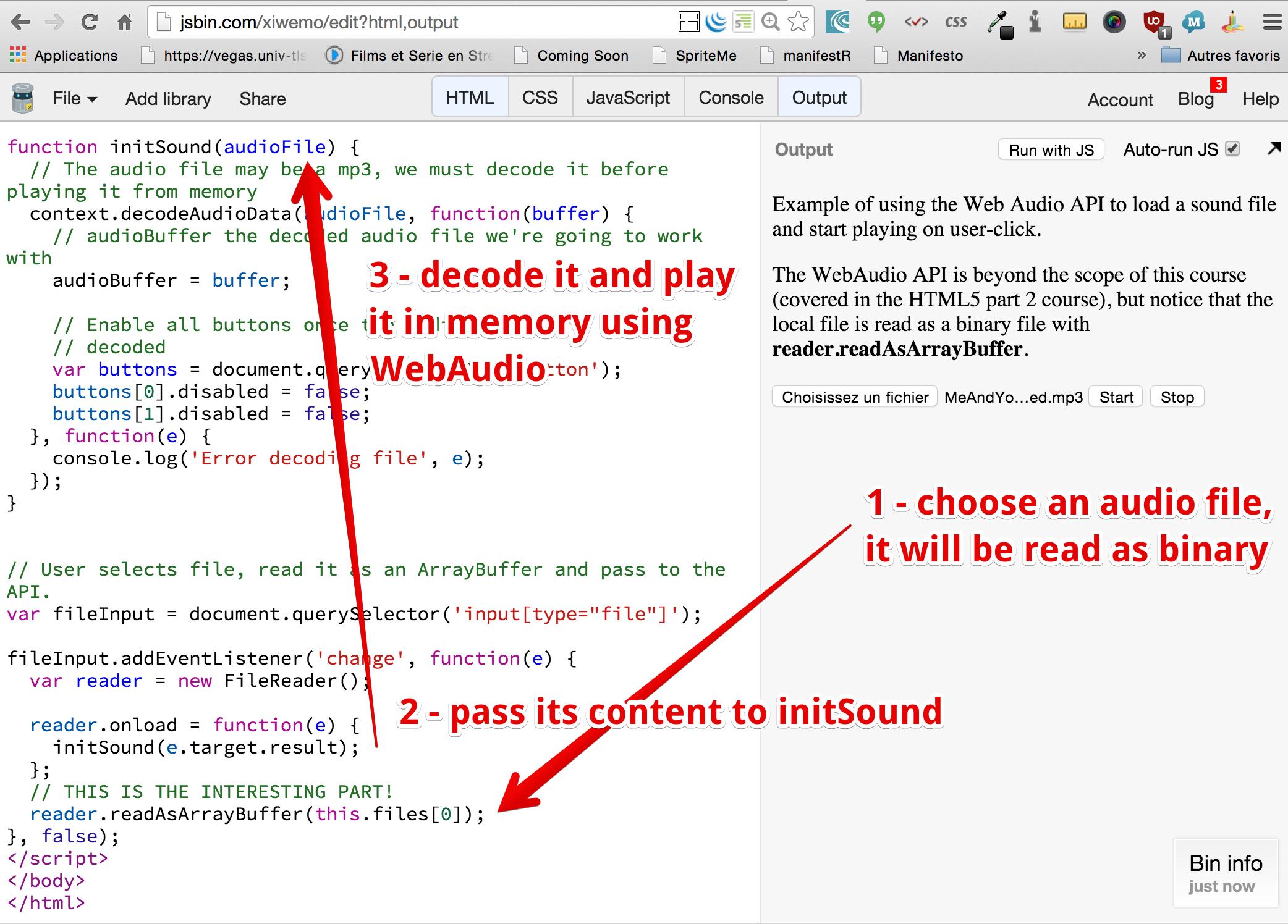 HTML5: The File API