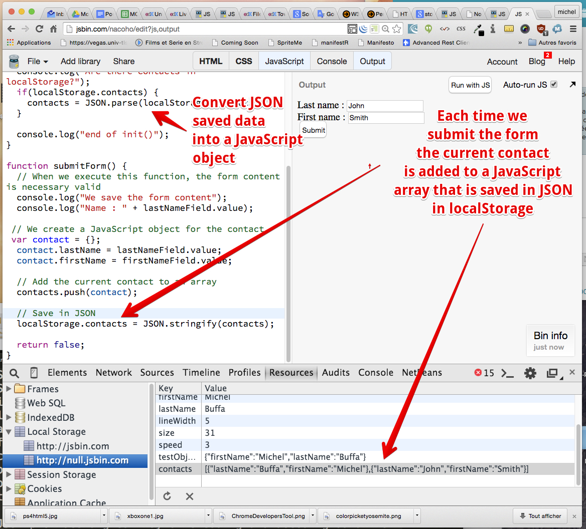 HTML5: Web Storage API